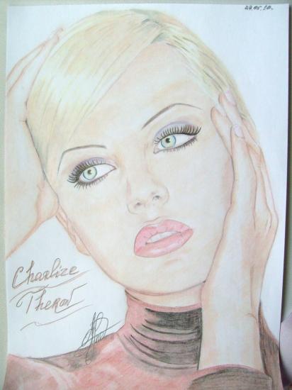 Charlize Theron por Anjuta